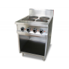 Electric Hot Plate W/Open Cabinet